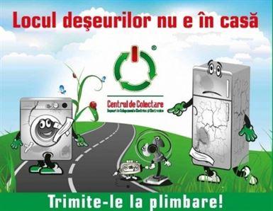 Campanie de colectare a deseurilor cu premii in electrocasnice