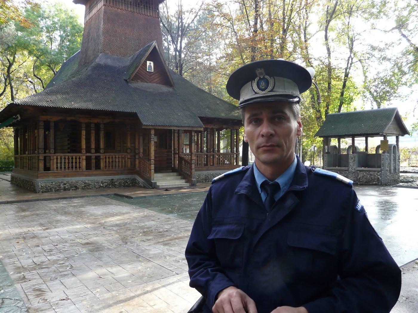 Constantin Iulian, jandarmul care prinde infractori si in timpul liber