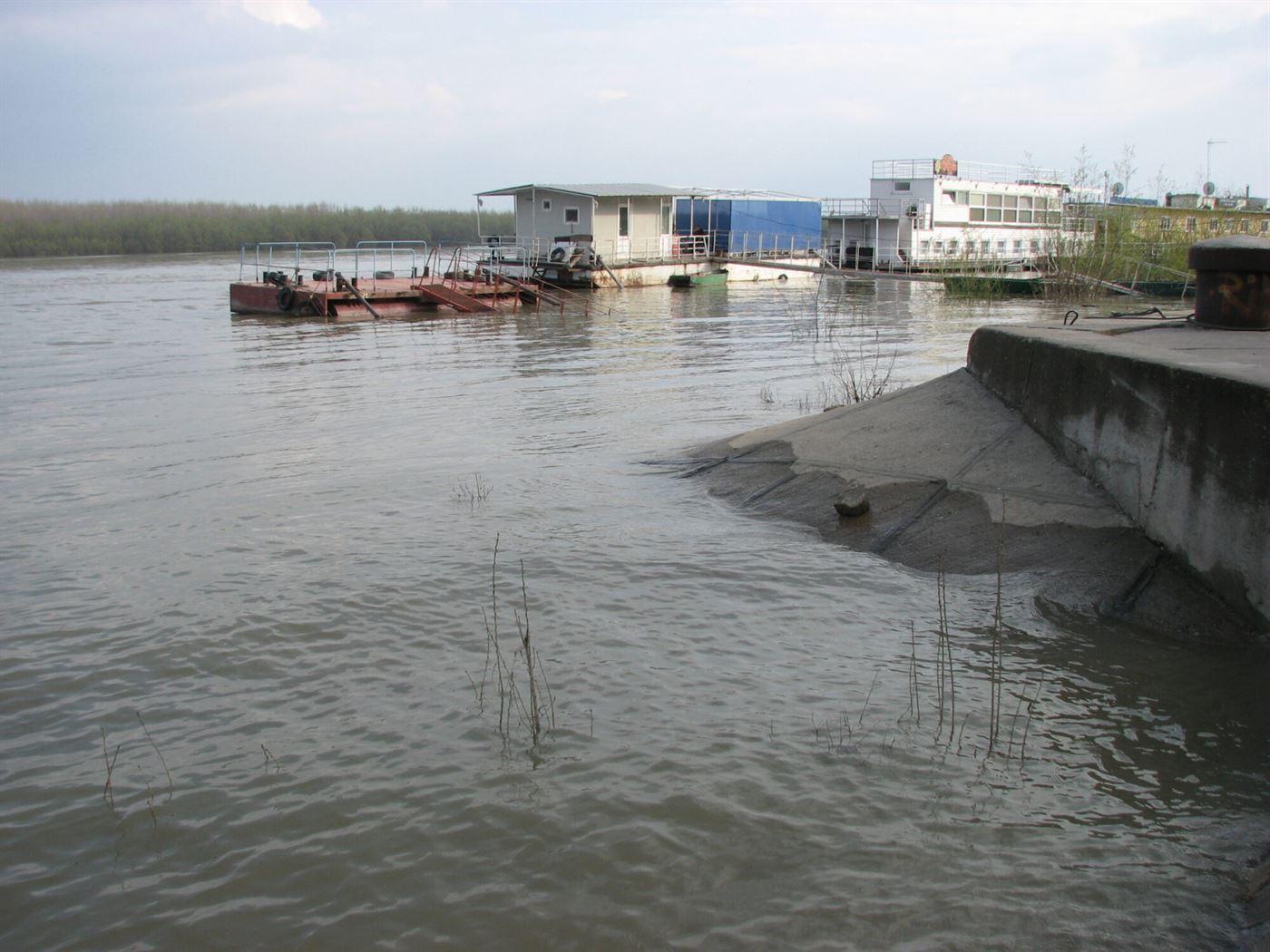 Codul Galben de inundatii pe Dunare, prelungit pana pe 30 aprilie