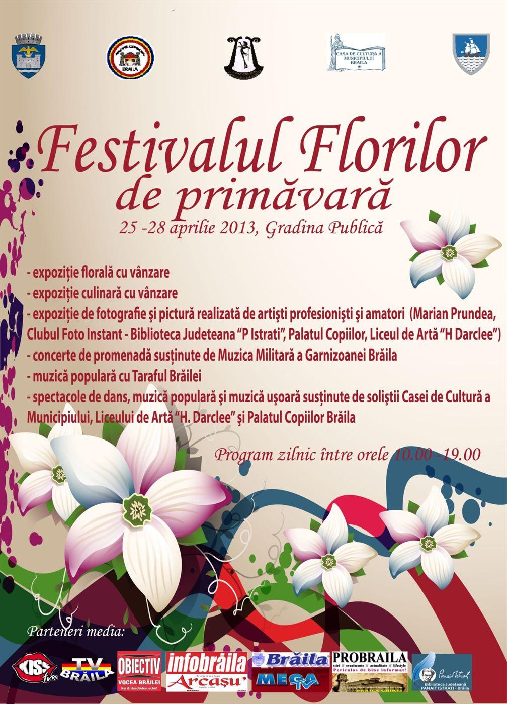 Veniti la Festivalul Florilor!