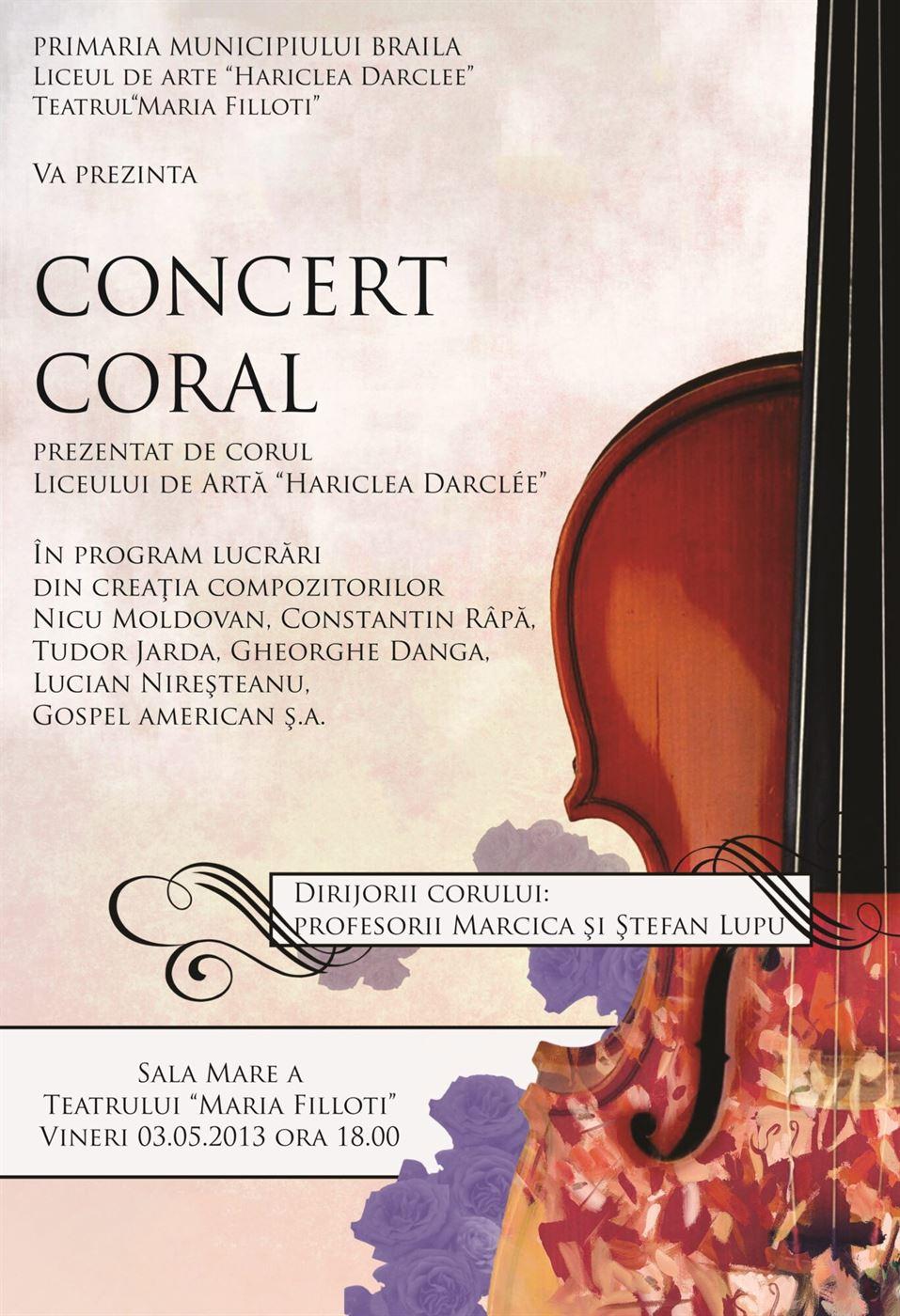 Concert de execeptie, in Vinerea Mare