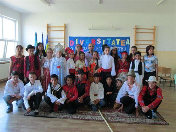 """Concursul National pentru elevi """"Diversitatea – O sansa in Plus pentru Viitor"""""""