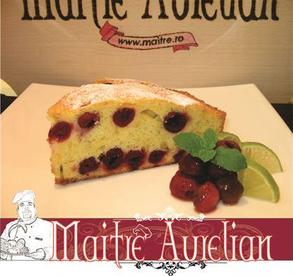 Tarta cu visine a la Maitre