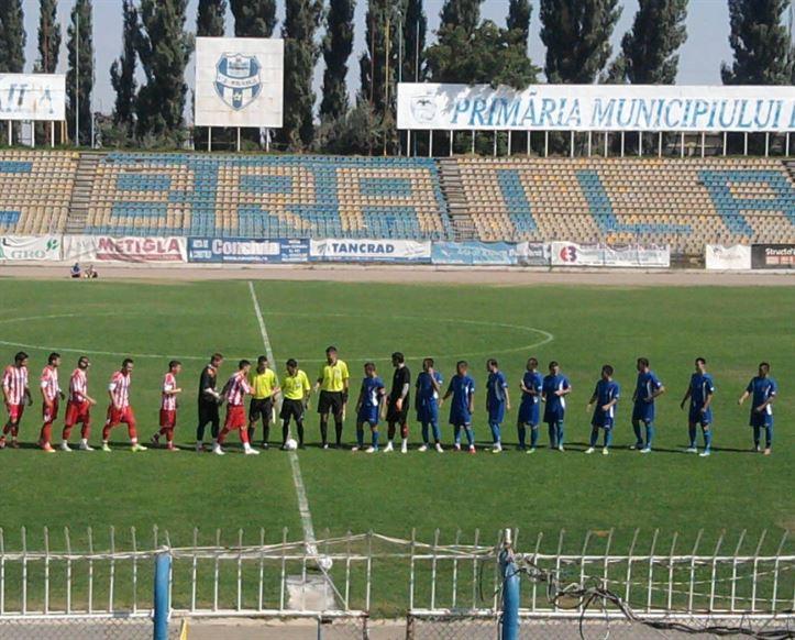 CF Braila a remizat, scor 1-1 (0-0) cu Dunarea Galati
