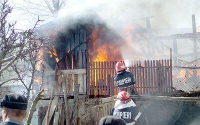 Pompierii, mereu la datorie !