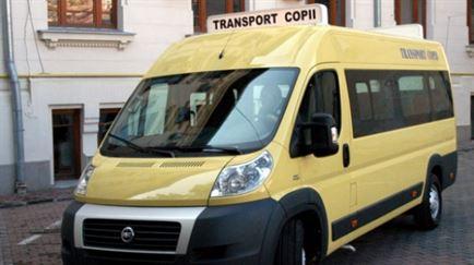 Masinile destinate transportului scolar au fost verificate de politistii braileni