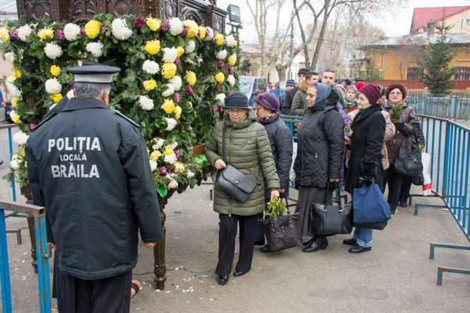 "Politia locala a asigurat ordinea publica la Biserica ""Sf. Nicolae"""