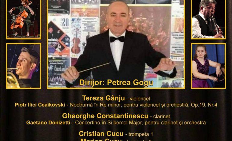 """Concert de concerte susținut de Orchestra Filarmonicii """"Lyra – George Cavadia"""""""