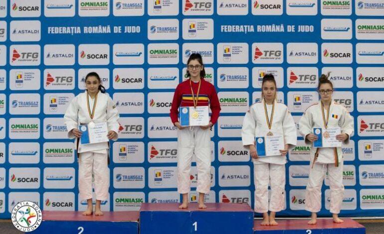 Maria Naidin a obținut medalia de bronz la naționalele de judo U18