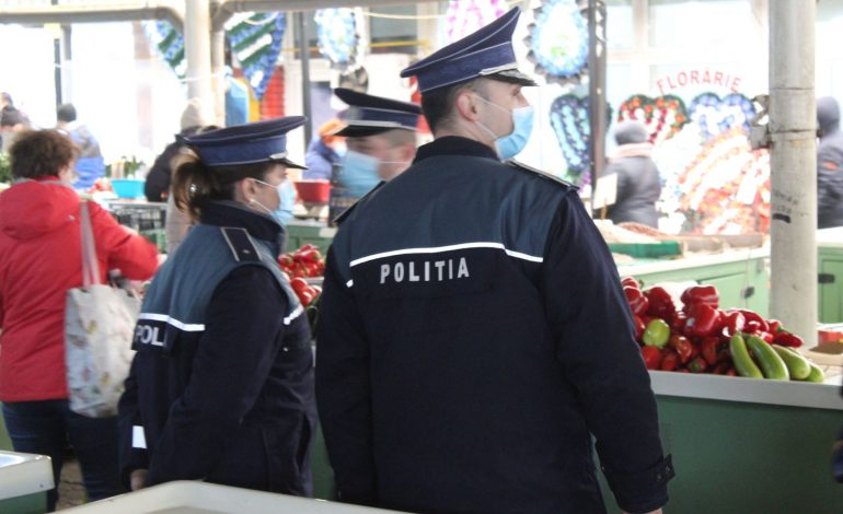 Acțiuni punctuale ale polițiștilor brăileni