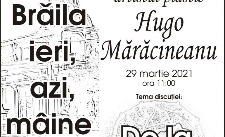 La taifas cu artistul plastic Hugo Maracineanu