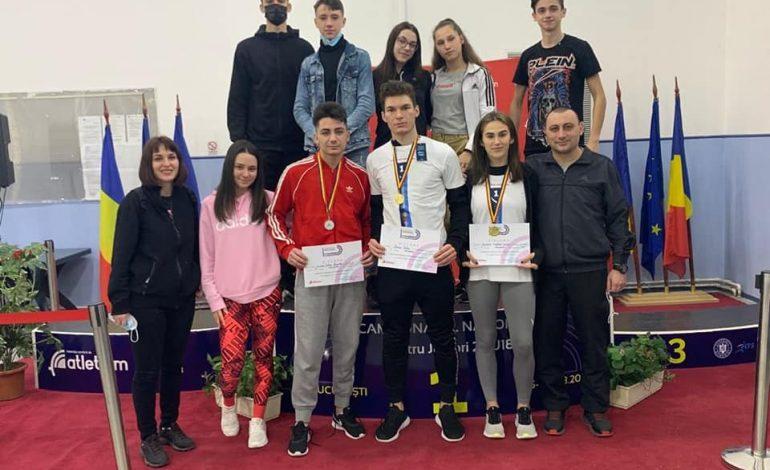 Cinci medalii de aur, două de argint și una de bronz, bilanțul atleților brăileni la naționalele de juniori U18