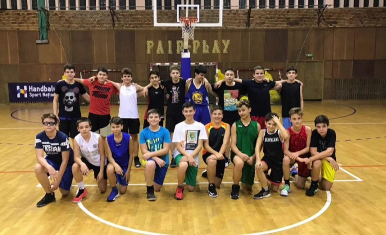 Cuza Pirates Brăila participă la primul turneu U 14 masculin din acest sezon competițional