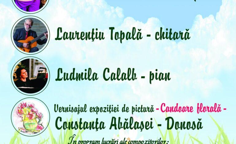 """Recital vocal-instrumental """" Dor de primavară"""""""