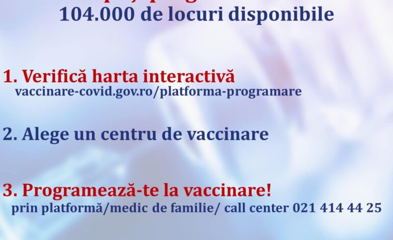 De astăzi, vaccinarea cu AstraZeneca fără programare