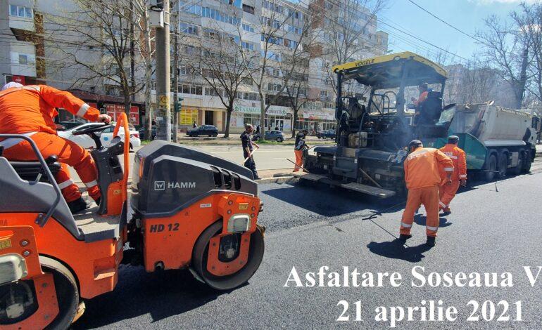 Lucrări de asfaltare străzi, trotuare și parcări în municipiul Brăila