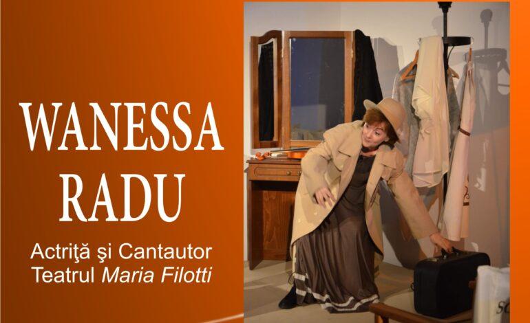 Moment de muzică și poezie cu actrița Wanessa Radu