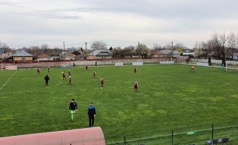 Cu un jucător eliminat gratuit în minutul 62, Viitorul Ianca a obținut un singur punct în meciul cu Sporting Liești
