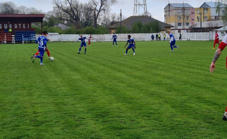 Dacia Unirea a tranșat soarta meciului cu Sportul Chiscani din prima repriză
