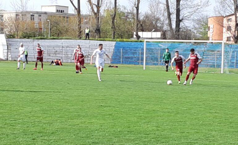 Viitorul Ianca a pierdut cu 4-1 la CSM Focșani