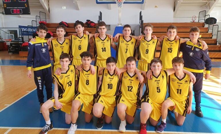 Baschetbaliștii U14 de la Cuza Pirates Brăila s-au calificat la turneul semifinal al campionatului național