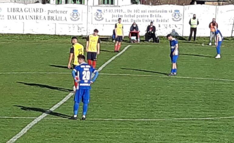 Dacia Unirea a învins Sporting Liești și încă mai speră să termine pe primul loc în serie