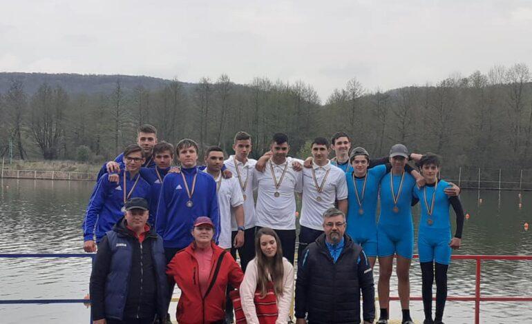 Șapte medalii pentru sportivii secției de kaiac canoe de la CSM Brăila