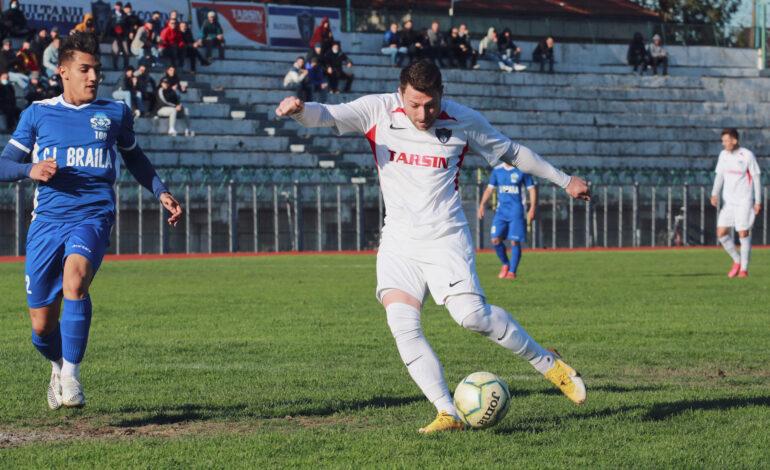 Dacia Unirea Brăila obligată să câștige meciul retur la 3 goluri diferență