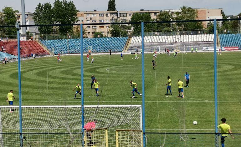 Dacia Unirea Brăila are prima șansă la promovarea în Liga a 2-a după egalul obținut pe terenul Oțelului Galați