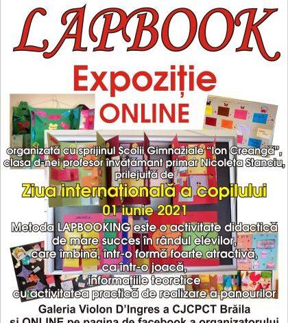 Expoziția on line Lapbook