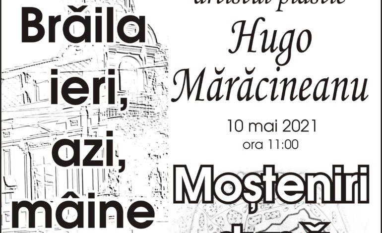 La taifas cu artistul plastic Hugo Mărăcineanu