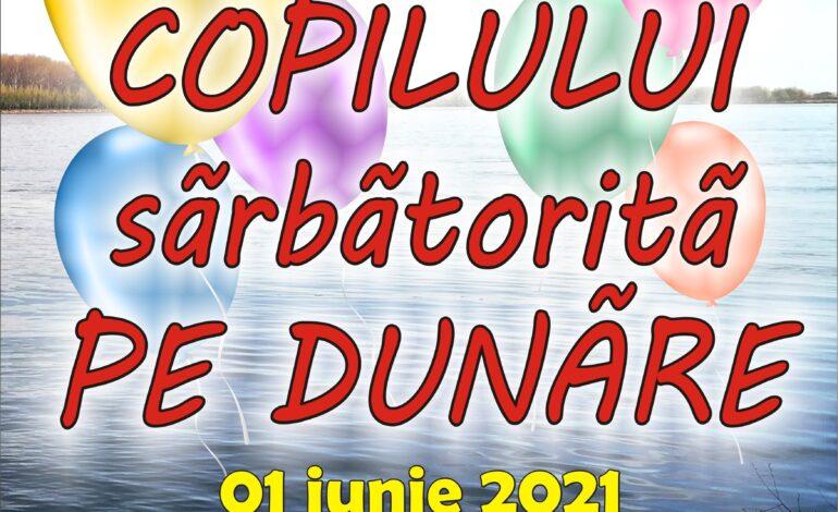 """Eveniment cultural """"Ziua copilului pe Dunăre"""" organizat de Centrul de Creație"""