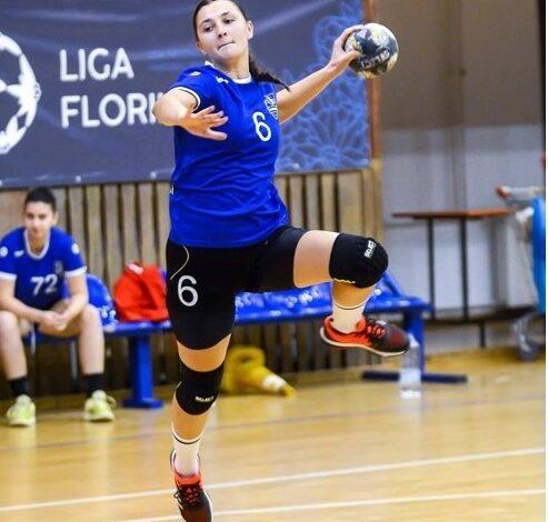 Amalia Terciu promovata la echipa de senioare a HC Dunărea