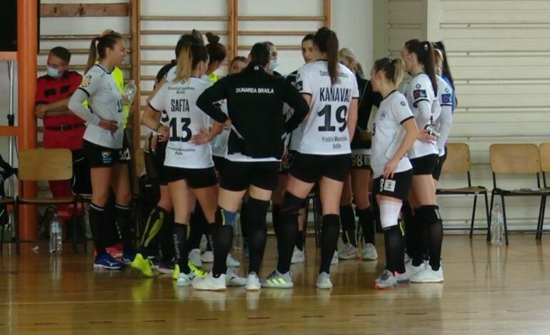 Cu două victorii și două înfrîngeri la turneul de la Bistrița, HC Dunărea Brăila a coborât pe locul 8 în Liga Florilor