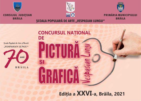 """Concursului Naţional de Pictură şi Grafică """"VESPASIAN LUNGU"""" și-a desemnat câștigătorii"""
