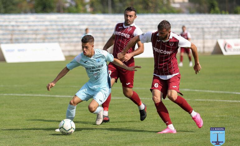 Viitorul Ianca a câștigat cu 2-1 amicalul cu CSM Focșani