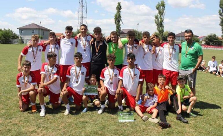 Luceafărul Brăila U15 s-a clasat pe locul 3 la Cupa Mării Negre