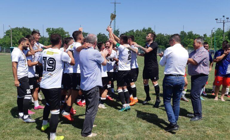 Victoria Traian a câștigat cu 3-0 finala Cupei României în fața celor de la ACS Comunal Cazasu
