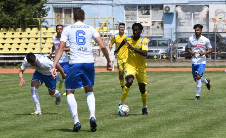 Dacia Unirea Brăila a pierdut cu 5-1 amicalul jucat în deplasare cu Unirea Slobozia