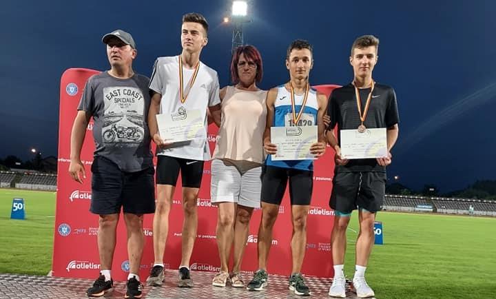 Atleții brăileni au obținut 8 medalii la naționalele de juniori U18