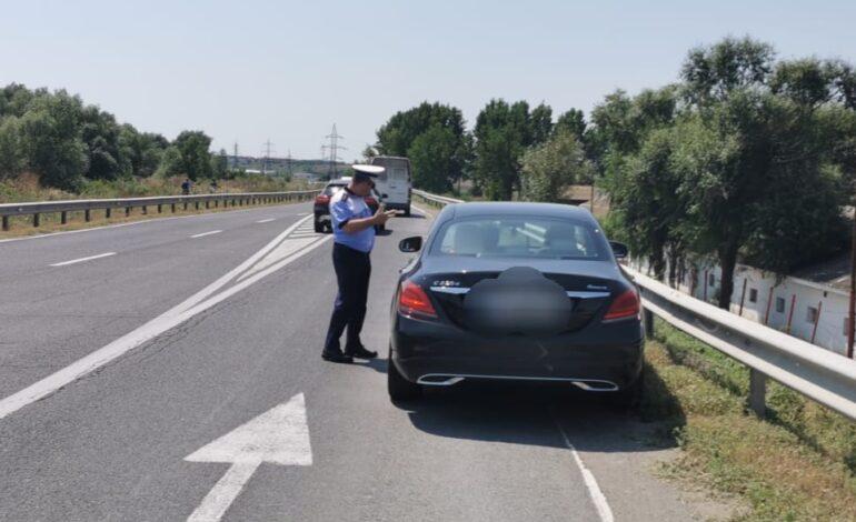 Acțiune a polițiștilor pentru combaterea nerespectării regimului legal de viteză