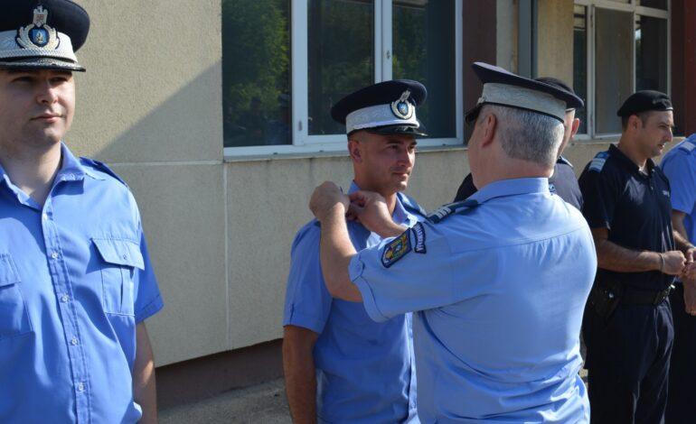 Trei ofițeri și 37 de subofițeri de jandarmi avansați în grad