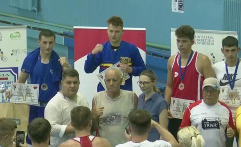 Brăileanul George Ionel Dan printre cei 13 campioni naționali de tineret la box