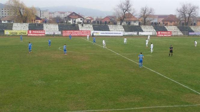 Dacia Unirea obtine doar o remiza cu Pandurii Tg. Jiu, dupa ce a condus cu 3-0