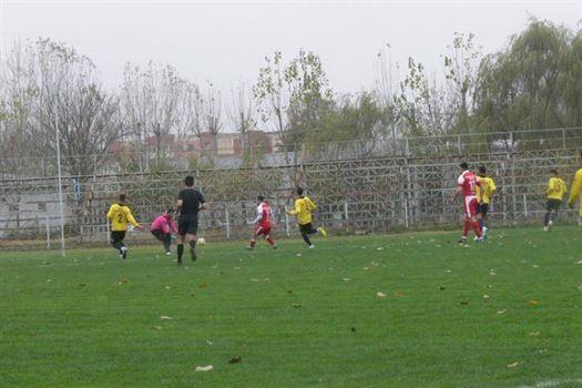 Remiză albă pentru Sportul Chiscani în deplasarea de la Oltenița