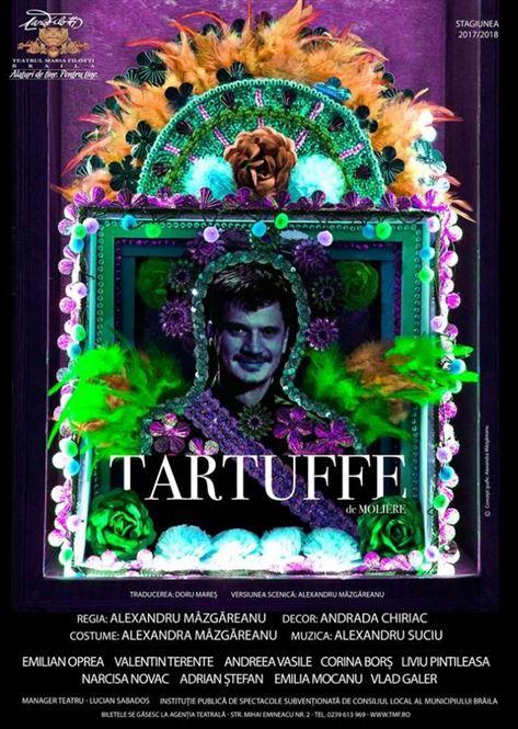 Tartuffe, in avanpremiera, pe scena Teatrului Maria Filotti