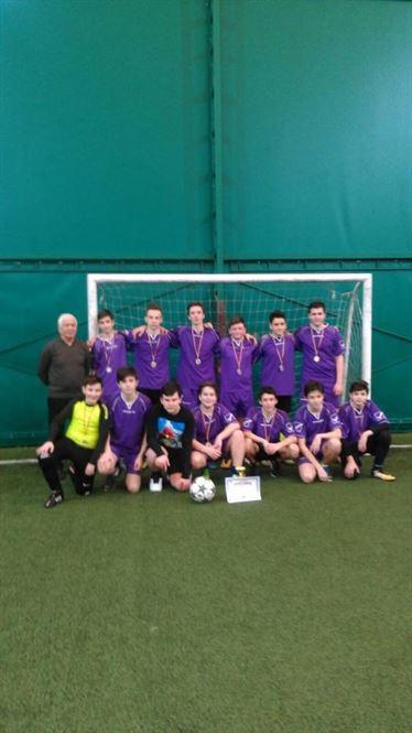 Echipa de fotbal gimnaziu de la Colegiul Murgoci campioana judeteana la ONSS baieti