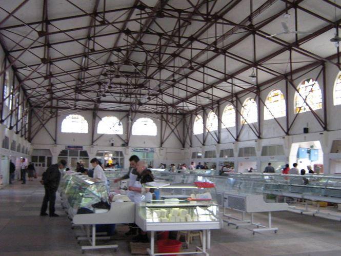 Piața Halelor închisă pentru igenizare