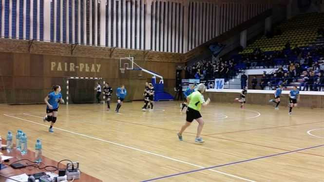 Dunarea Braila a invins cu 28-25 pe CSM Bistrita si s-a calificat in Final 4 al Cupei Romaniei