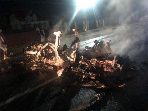 Șoferul brăilean care a produs un accident mortal pe DN 1B a murit la spital